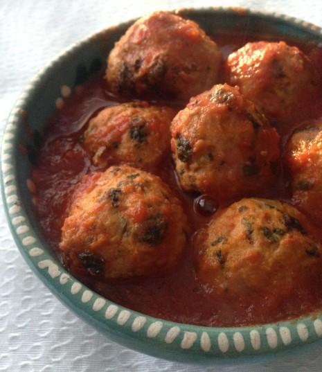 cilantro meatballs